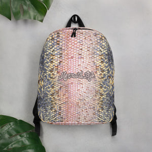 Pink Trout Scales BackpackBags Womens Apparel Mermaid Life