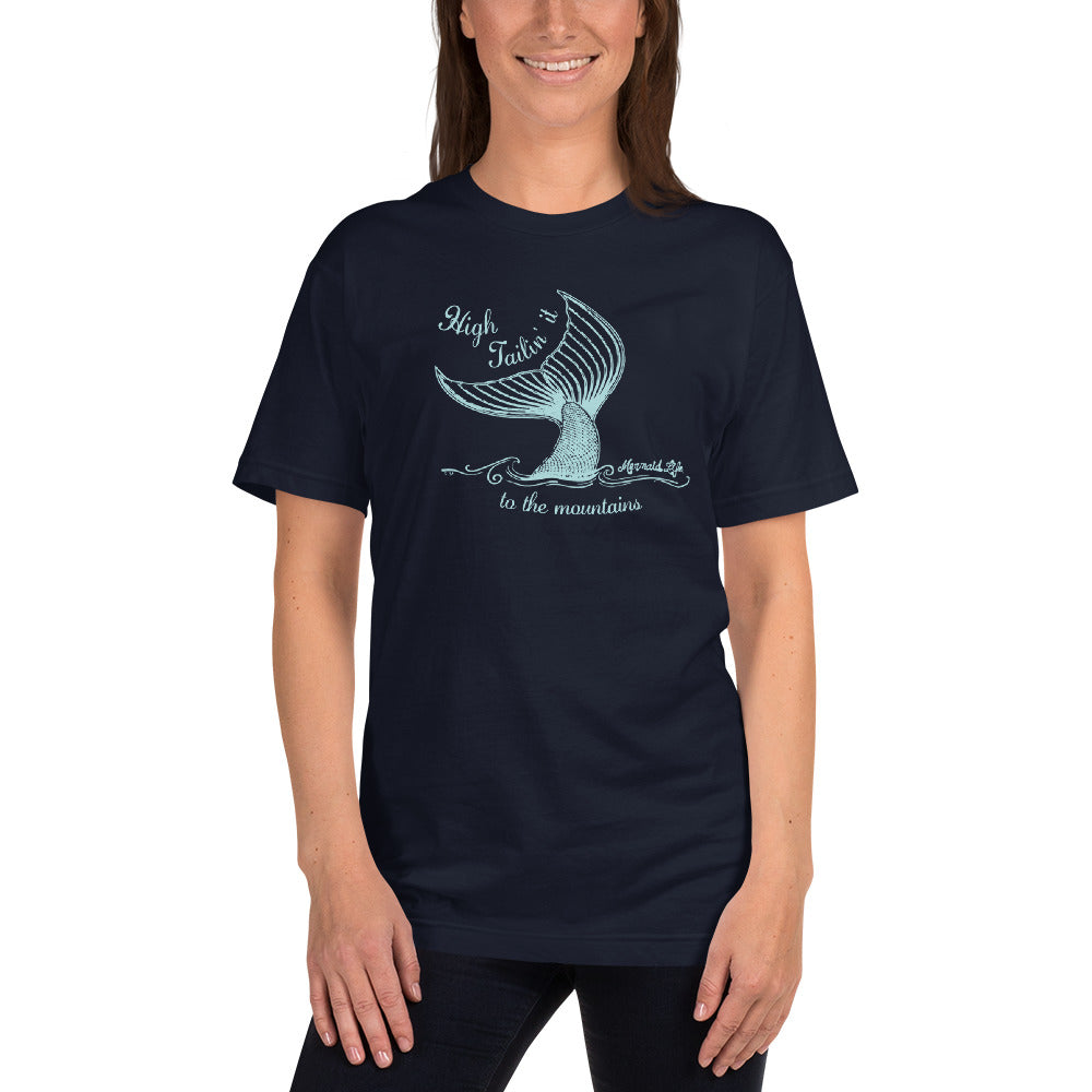 High Tailin it to the Mountains Tee USAApparel Womens Apparel Mermaid Life