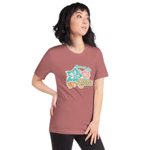 Load image into Gallery viewer, Aloha Vibes with Hibiscus T-ShirtApparel Womens Apparel Mermaid Life