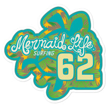 Load image into Gallery viewer, 1962 Sea Turtle Surf Bubble-free stickersDecals Womens Apparel Mermaid Life