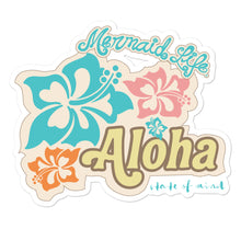 Load image into Gallery viewer, Aloha State of Mind Vinyl stickersDecals Womens Apparel Mermaid Life