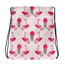 Load image into Gallery viewer, Palm Beach Flamingo SackpackAccessories Womens Apparel Mermaid Life