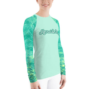 Lagoon Swim Sun ShirtPerformance Womens Apparel Mermaid Life