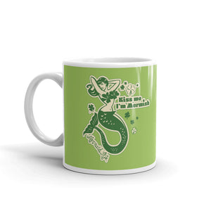 Kiss Me Im Mermish MugDrinkware Womens Apparel Mermaid Life