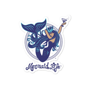 Aquatini Mermaid StickerDecals Womens Apparel Mermaid Life