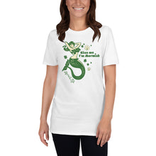 Load image into Gallery viewer, Irish Kiss Me Im Mermish Short-Sleeve Unisex T-ShirtApparel Womens Apparel Mermaid Life