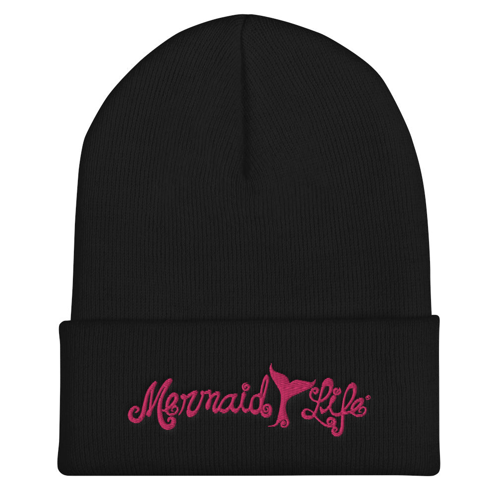 Mermaid Life Tail Winter Beanie 4 ColorsHeadwear Womens Apparel Mermaid Life