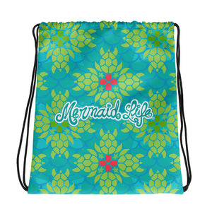 Sea Turtle Splendor Light BackpackBags Womens Apparel Mermaid Life