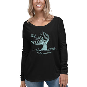 High Tailin Long Sleeve TeeApparel Womens Apparel Mermaid Life