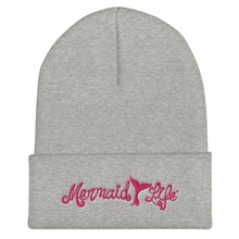 Load image into Gallery viewer, Mermaid Life Tail Winter Beanie 4 ColorsHeadwear Womens Apparel Mermaid Life