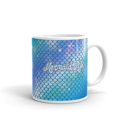 Mermaid Life Hypnotic Scales MugDrinkware Womens Apparel Mermaid Life