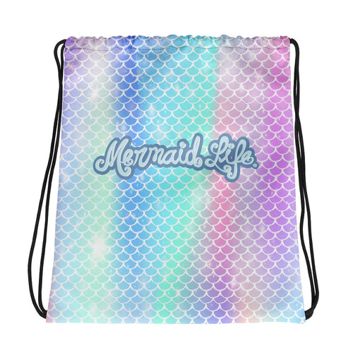 Rainbow Scales BackpackBags Womens Apparel Mermaid Life