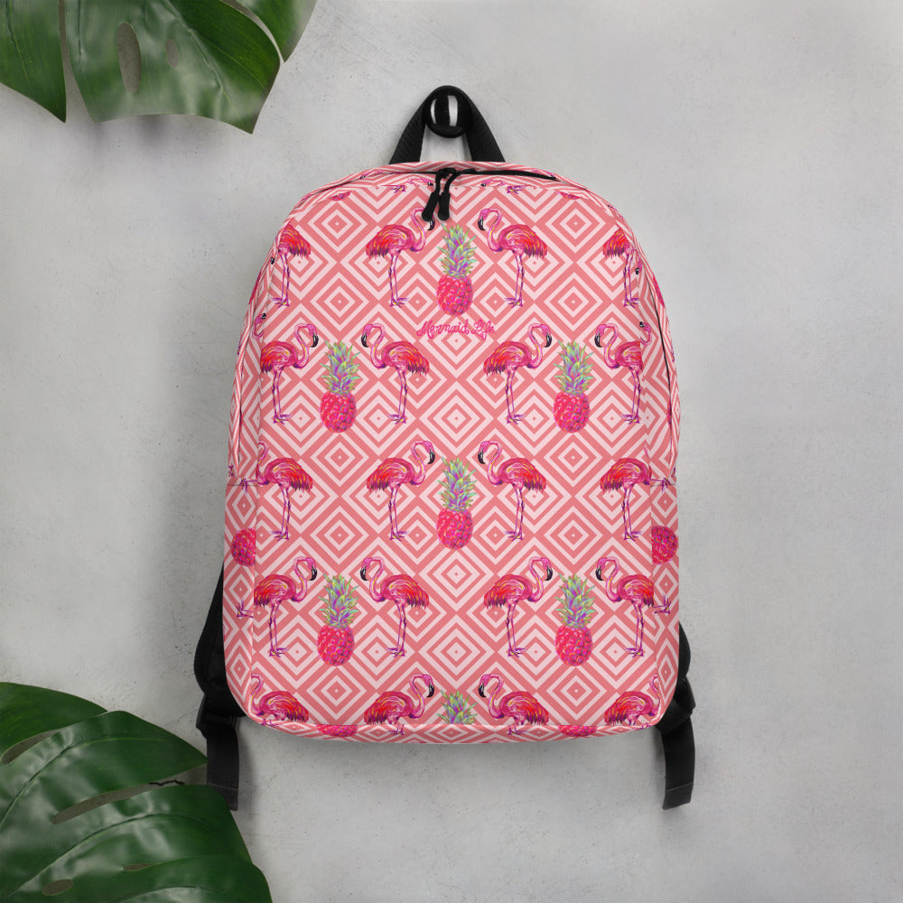 Palm Beach Flamingo Backpack Womens Apparel Mermaid Life