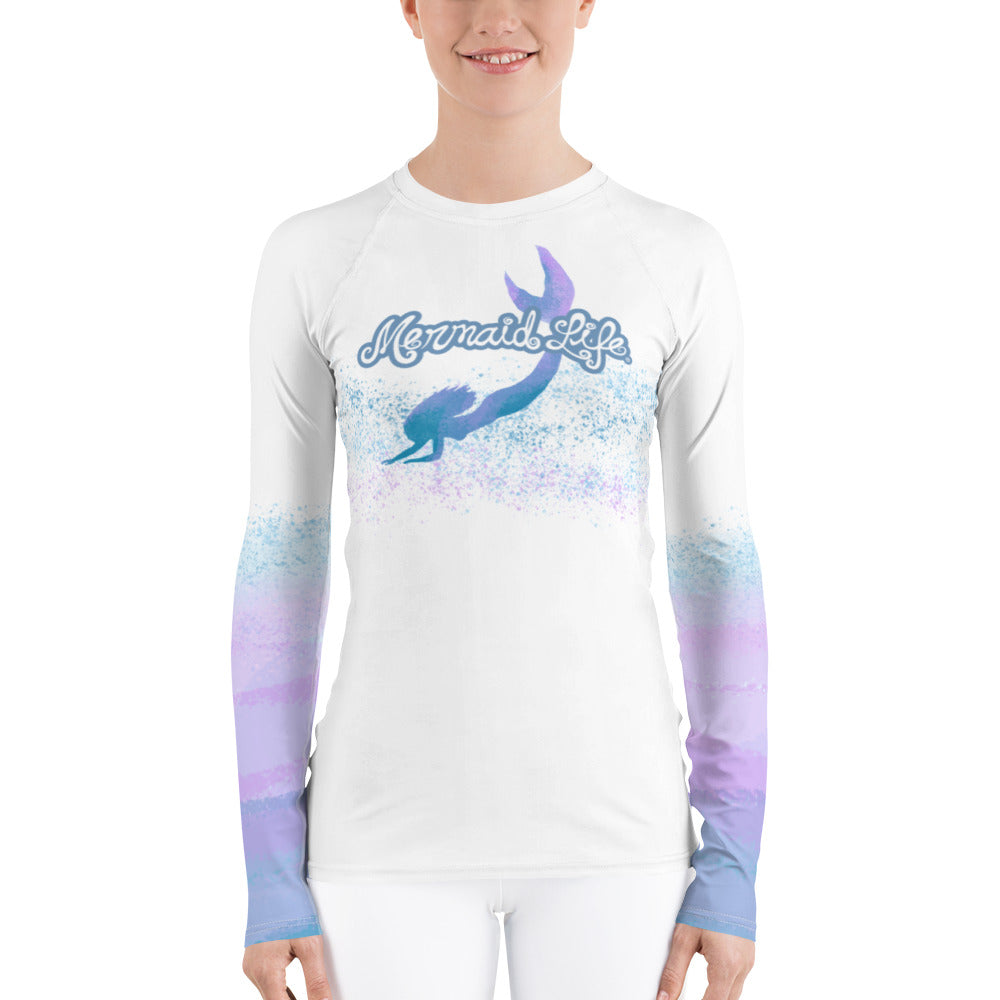 Fantasea Mermaid Swim Sun ShirtPerformance Womens Apparel Mermaid Life