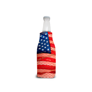 Patriot Mermaid Scales Bottle KoolieDrinkware Womens Apparel Mermaid Life