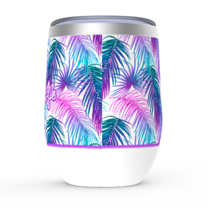 Tropics Stemless Wine TumblersDrinkware Womens Apparel Mermaid Life