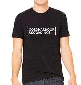 COLDHARBOUR LOGO BLACK TEE - MEN