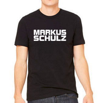 MARKUS SCHULZ LOGO BLACK TEE - MEN