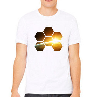MARKUS SCHULZ WTW WHITE FULL COLOR TEE - MEN