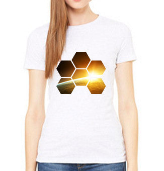 MARKUS SCHULZ WTW ALBUM ART ON WHITE TEE - LADIES