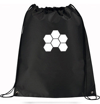 MARKUS SCHULZ WTW BLACK DRAW STRING BACKPACK