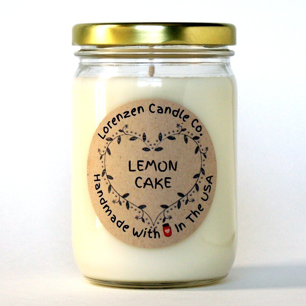 Lemon Cake Soy Candle, 12oz