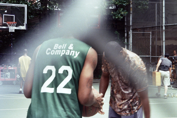 Basket Ball Players on Film