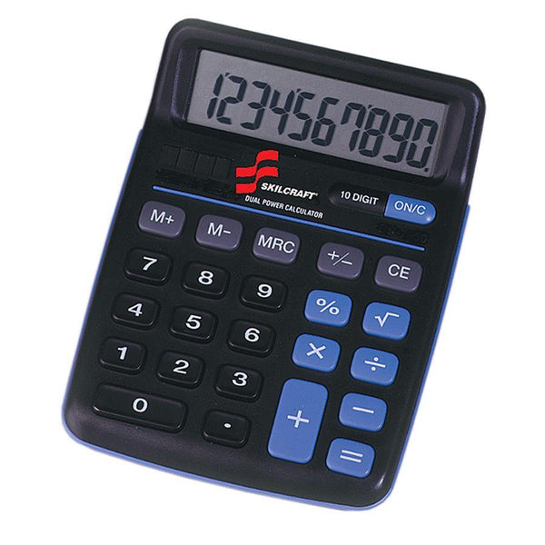 SKILCRAFT 10-Digit Calculator