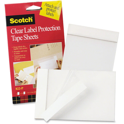 3M Label Protection Tape Sheets