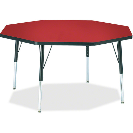 Berries Elementary Height Color Top Octagon Table