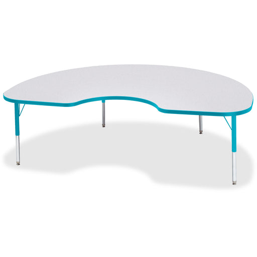 Berries Toddler Height Color Edge Kidney Table