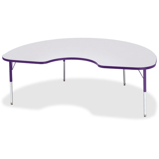 Berries Elementary Height Color Edge Kidney Table