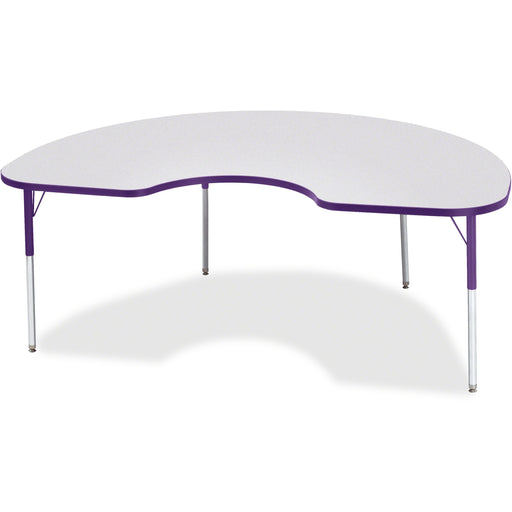 Berries Adult Height Prism Color Edge Kidney Table