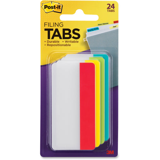 3M Filing Tab - Primary Colors