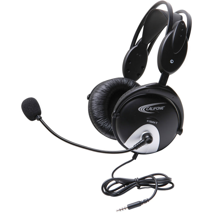 Califone 4100AVT To Go Plug Headset