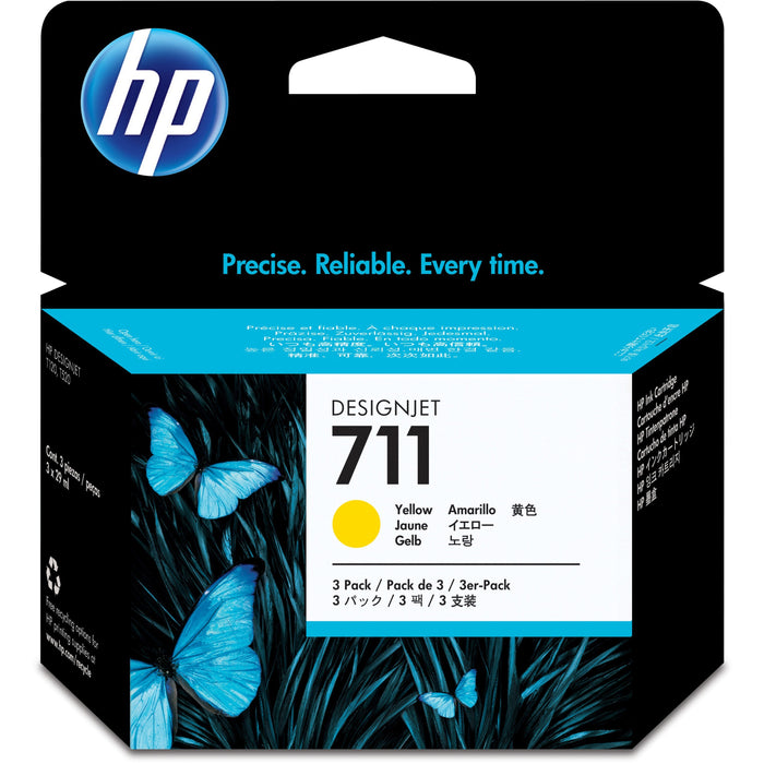 HP 711 (CZ136A) Original Ink Cartridge - Multi-pack