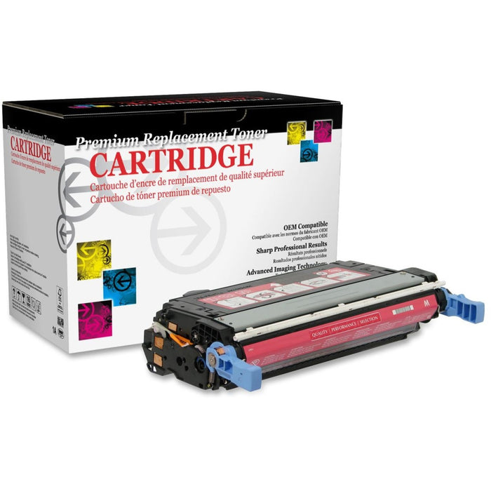 West Point Remanufactured Toner Cartridge - Alternative for HP 642A (CB403A)