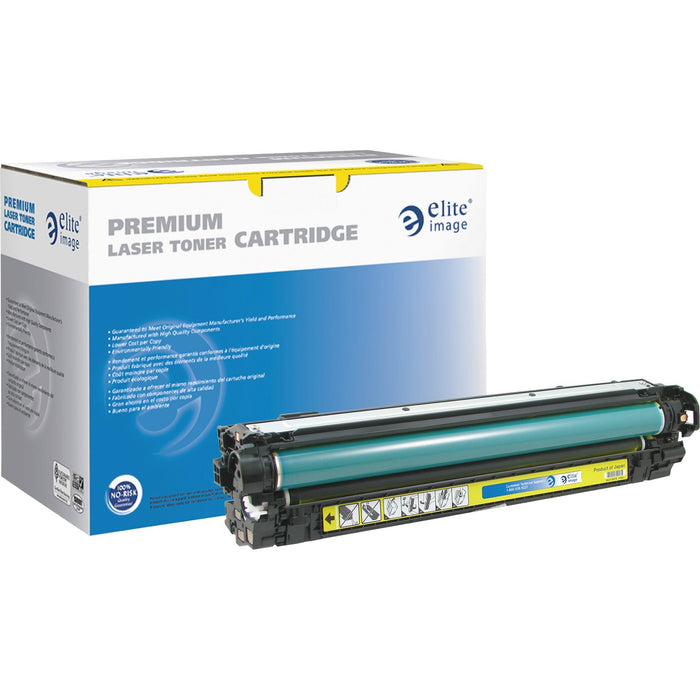 Elite Image Remanufactured Toner Cartridge - Alternative for HP 650A - Yellow