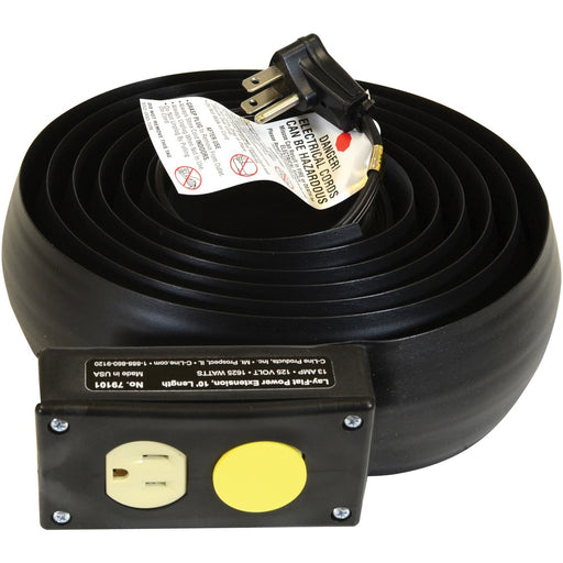 C-Line Lay-Flat Power Extension and Cord Cover