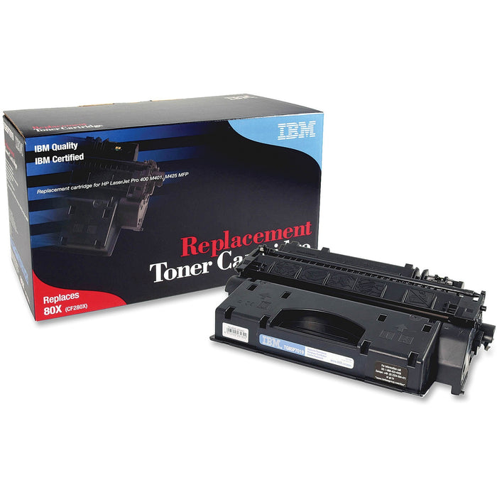 IBM Remanufactured Toner Cartridge - Alternative for HP 80X (CF280X)