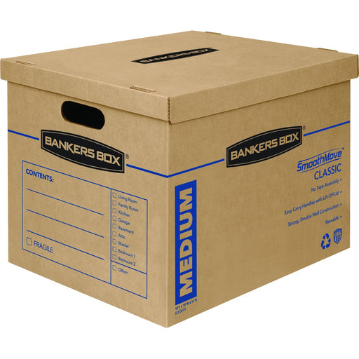 Bankers Box SmoothMove™ Classic Moving Boxes, Medium