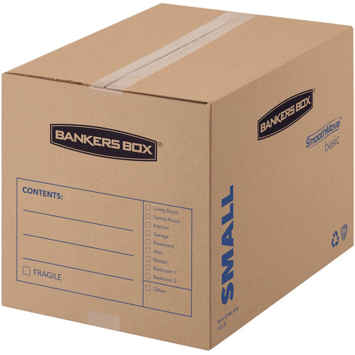 Bankers Box SmoothMove™ Basic Moving Boxes, Small