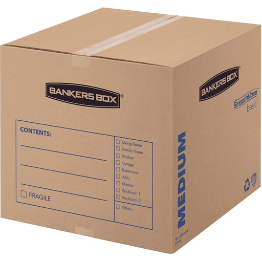 Bankers Box SmoothMove™ Basic Moving Boxes, Medium