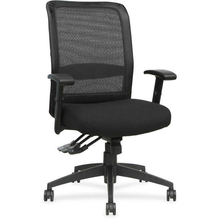 Lorell Executive High-Back Mesh Multifunction Chair