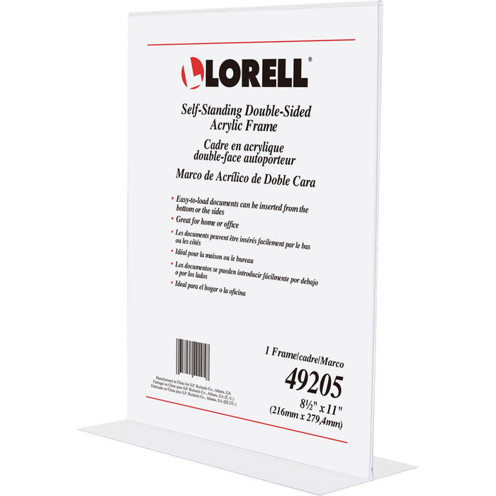 Lorell Double-sided Acrylic Frame