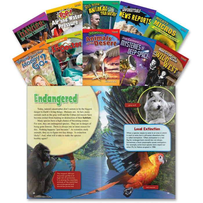 Shell Education TFK Challenging 5th-Grade Book Set 2 Printed Book