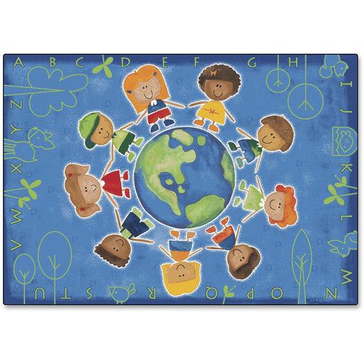 Carpets for Kids Give The Planet A Hug Rug