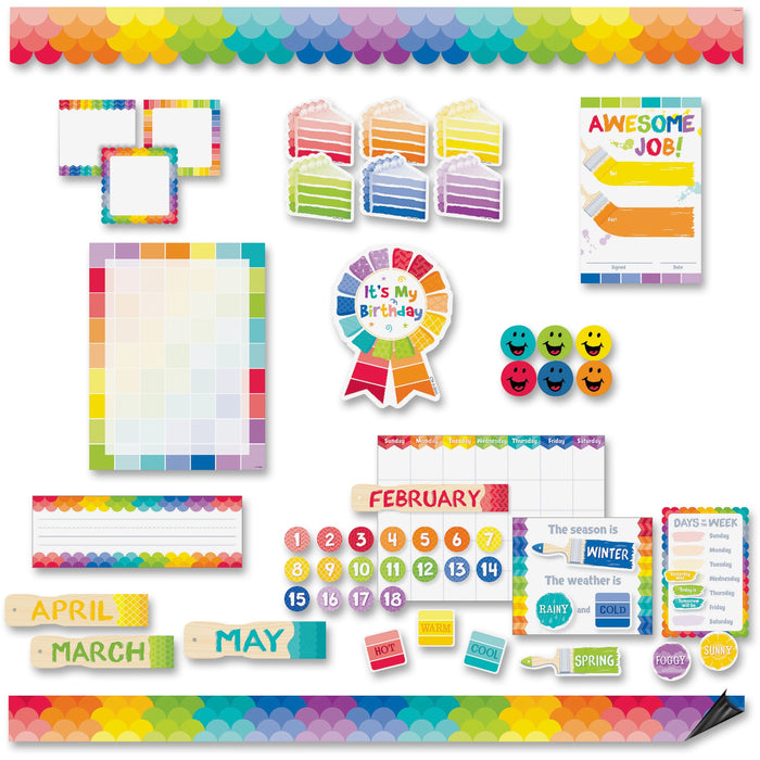Creative Teaching Press Painted Design Bulletin Board Sets