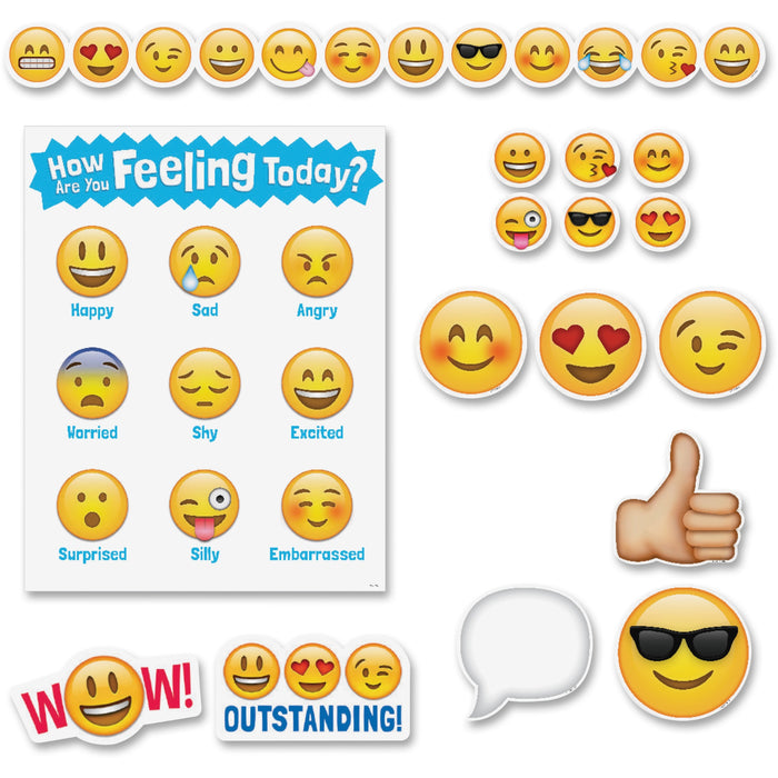 Creative Teaching Press Emoji Fun Bulletin Brd Set