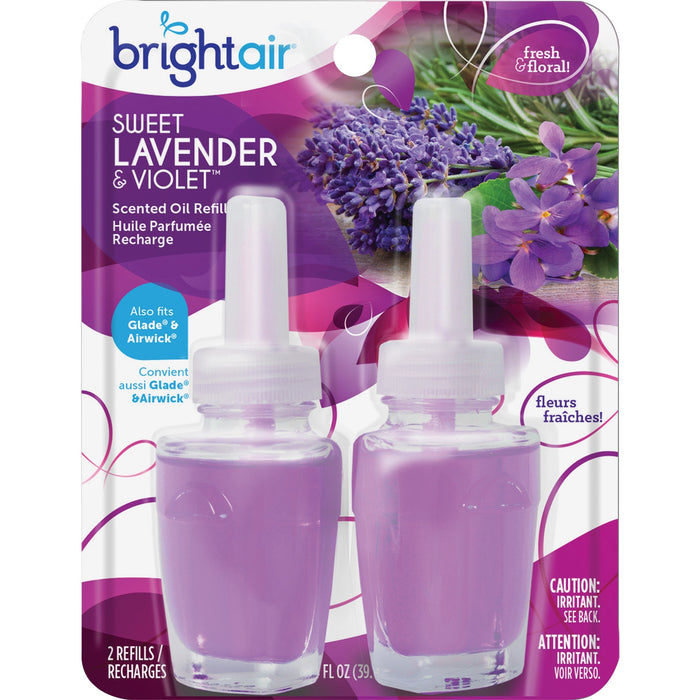 Bright Air Sweet Lavender/Violet Oil Warmer Refill